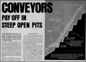 Conveyors Pay-Off in Steep Open Pits by Joseph Dos Santos