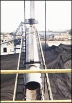3,000 TPH Coal Stacker, Complete Reeving and Hoisting System