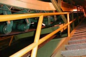 DSI Snake Sandwich Conveyor at Pulp Mill, Western Canada