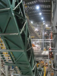 DSI Snake Sandwich Conveyor for Continental CN at Snap Lake Diamond Mine