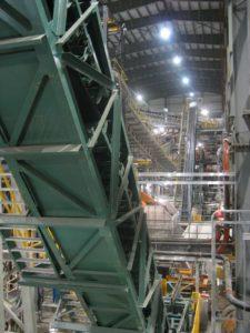 DSI Snake Sandwich Conveyor for Continental CN at Snap Lake Diamond Mine