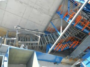DSI Snake Sandwich Conveyor for Repsol Refinery at Bilbao, Spain