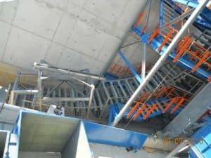 DSI Snake Sandwich Conveyor for Repsol Refinery at Bilbao, Spain