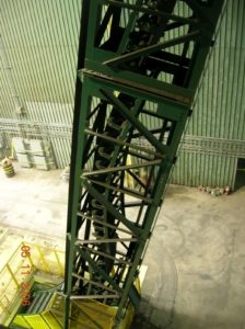 DSI Snake Sandwich Conveyor for Continental CN at DOFASCO Steel Project
