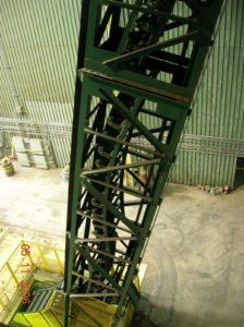 DSI Snake Sandwich Conveyor for Continental CN at DOFASCO Steel Project