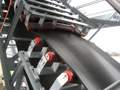 DSI Snake Sandwich Conveyor Ship loader for Cortex Resources at Port Adelaide, Australia